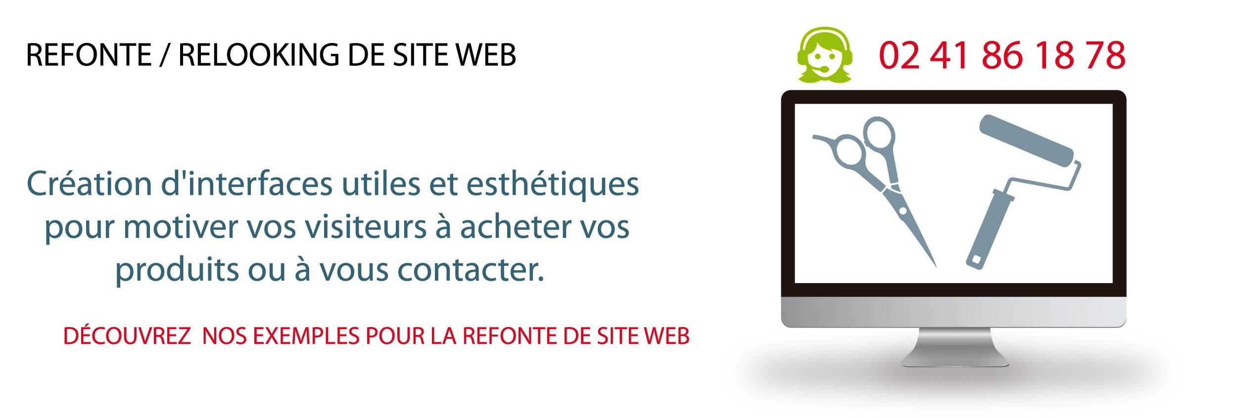 Refonte de site Web